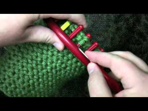 How To Decrease Stitches On Knitting Loom : How to Decrease The Crown Of a Loom Knit Hat - YouTube