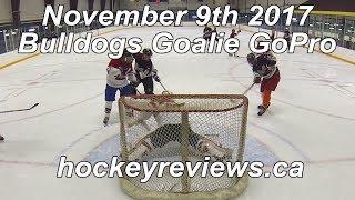 November 9th 2017 Bulldogs Hockey Goalie GoPro