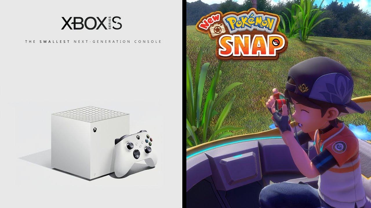 Xbox Series S halb so teuer wie die PS5? / Meine Meinung zu New Pokémon Snap & Pokémon Unite