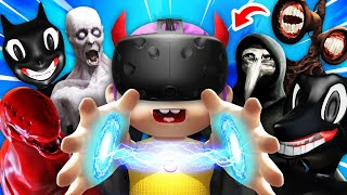 EVIL BABY Summons EVERY SCP MONSTER In VR (Scary Baby Hands VR Funny Gameplay)