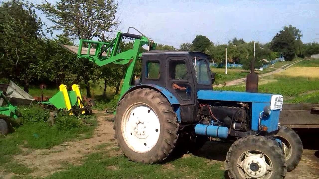Кун для трактора своими руками на т-40