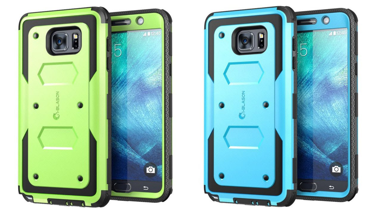 i blason dual layer hybrid case for samsung galaxy note 5 youtube