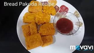 Bread Pakoda Recipe/ Quick Bread Fritters/Simple,Easy and Quick  Recipe