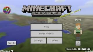 Mi cabaña en minecraft