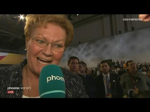 Kandidatenbefragung & Wahl des neuen CDU-Parteivorsitzes