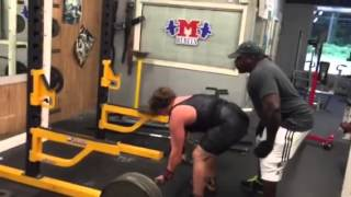 OG Rob + Nick Romano 500 pound deadlift