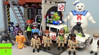 Video Playmobil Ghostbusters komplett alle Sets seratus1 Ecto-1 Feuerwache download MP3, 3GP, MP4, WEBM, AVI, FLV Maret 2018