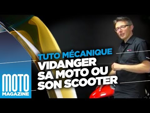 comment vidanger sa moto ou son scooter tuto m canique moto magazine youtube. Black Bedroom Furniture Sets. Home Design Ideas