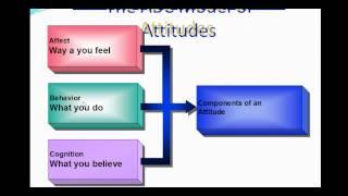 Structure of attitudes ABC model