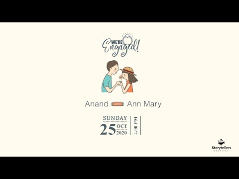 Ann Mary & Anand || Engagement Ceremony || LIVE