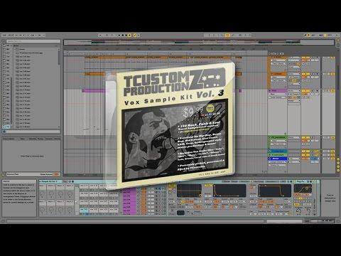 TCustomz Vox Sample Kit Vol 3 DEMO | Hip Hop Vocal Sample Pack (Rock, Funk & Soul Vocal Samples)