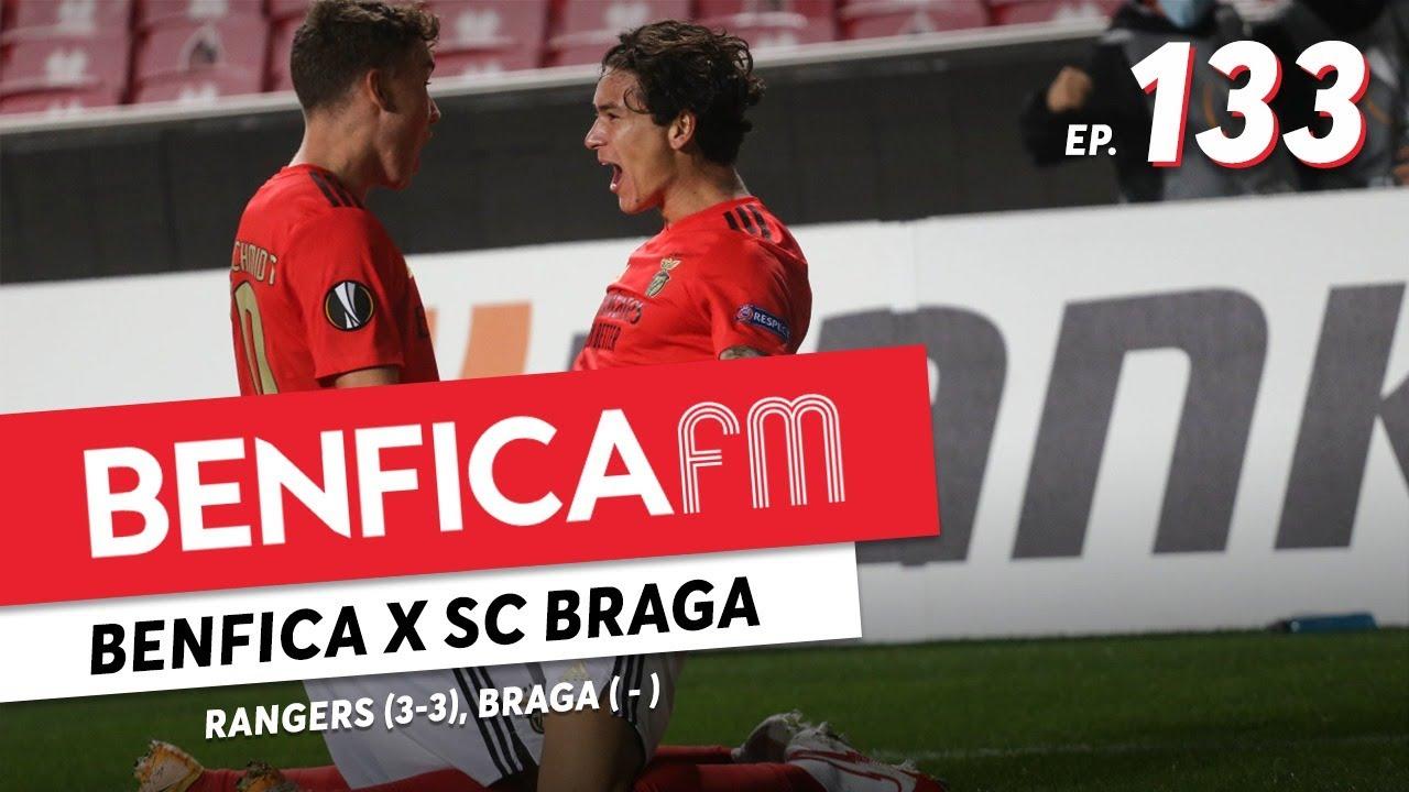 Benfica FM #133 - Benfica - SC Braga e Rangers (2-3, 3-3)