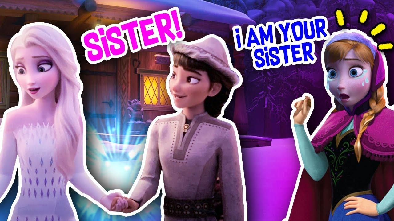Frozen 2 Honeymaren Steals Elsa S Love Anna Is Furious Youtube