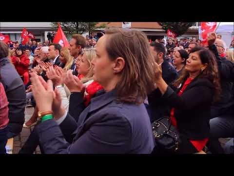 Martin Schulz in Böblingen am 13.September 2017