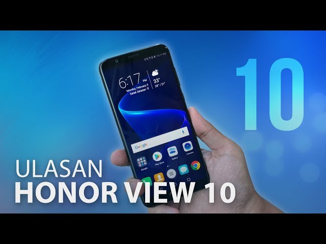 Ulasan: Honor View 10