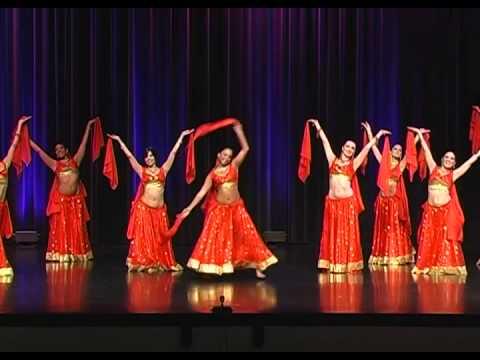 "Modern Bollywood ""Sitarfire"" by Orlando Bellydance Performance Company"