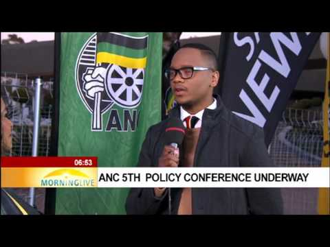 Edna Molewa on Day 3 of ANC Policy Conference