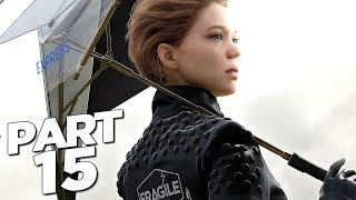 DEATH STRANDING Walkthrough Gameplay Part 15 - EXPRESS (FULL GAME)