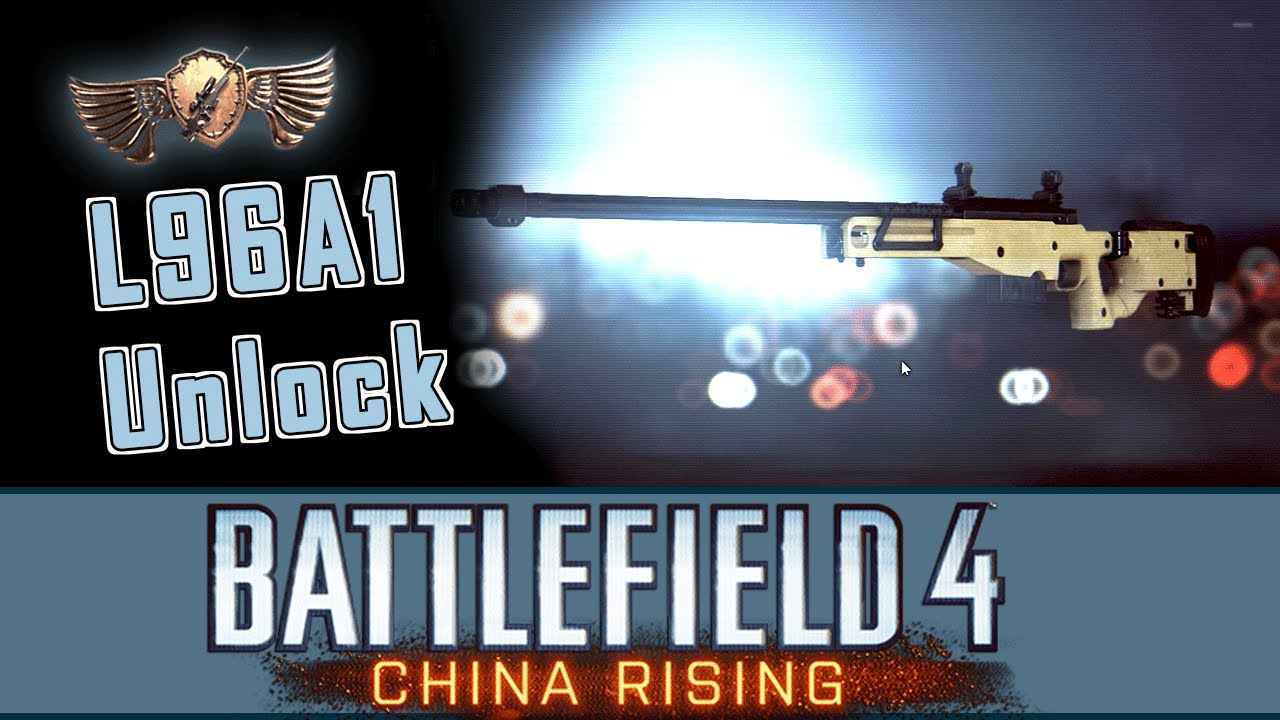 BF4 Need Only One Assignment Unlock L96A1