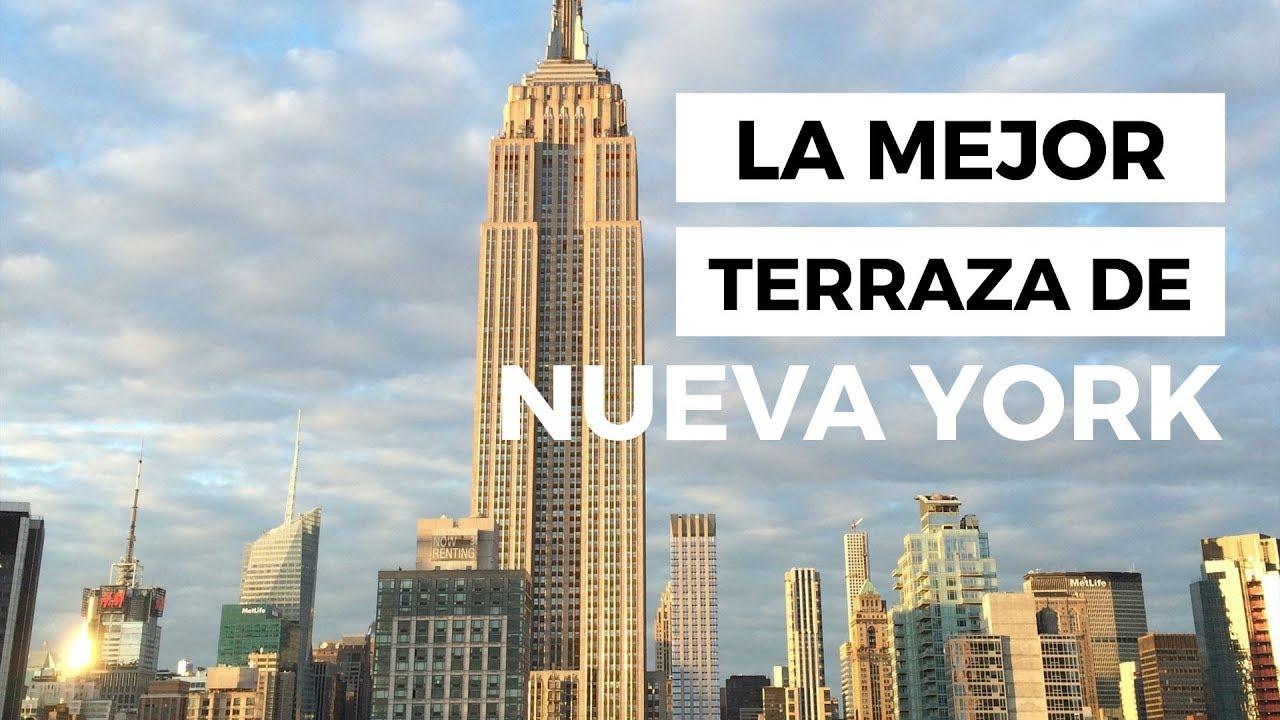 Comer En Nueva York La Terraza En Nueva York Del 230fifth Con Vistas Al Empire State