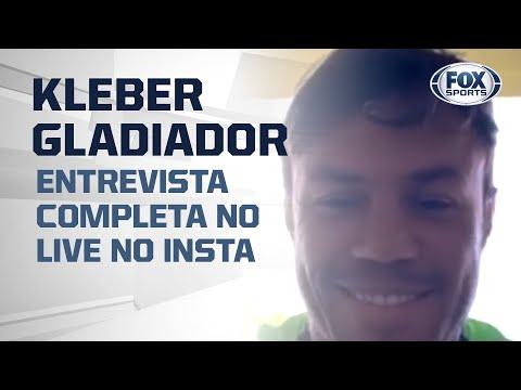 TRETAS, HISTÓRIAS E MAIS! Kleber Gladiador no FOX Sports - Entrevista completa