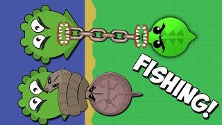 Mope.io FISHING! mope io ЗЛОВИВ КРАКЕНА НА РИБОЛОВЛІ!