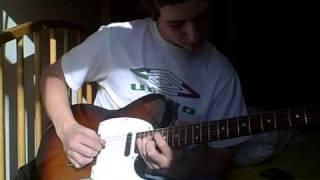 """Blues at Frog Bottom"" jazzy guitar improv"