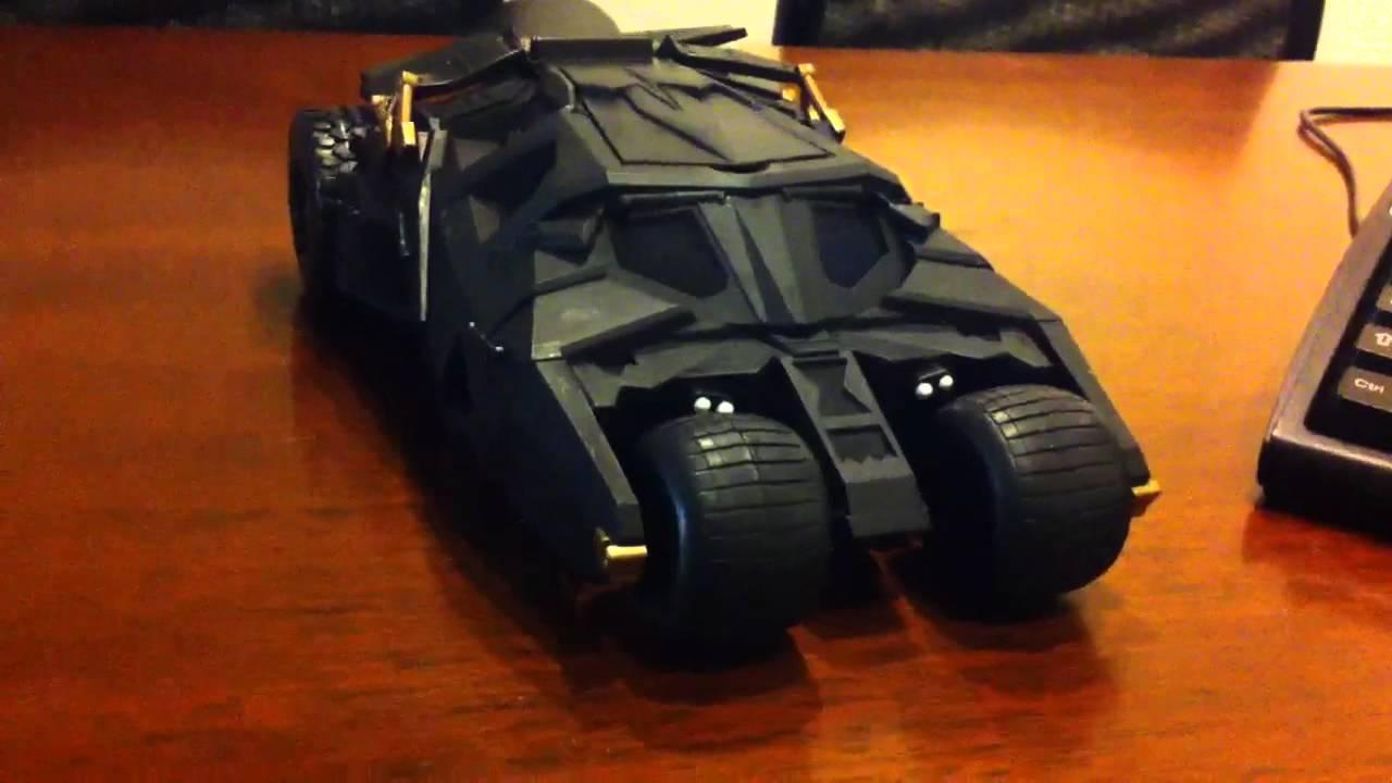 The Dark Knight Rises Batmobile - MrSenCTVT's Newest Toy ...