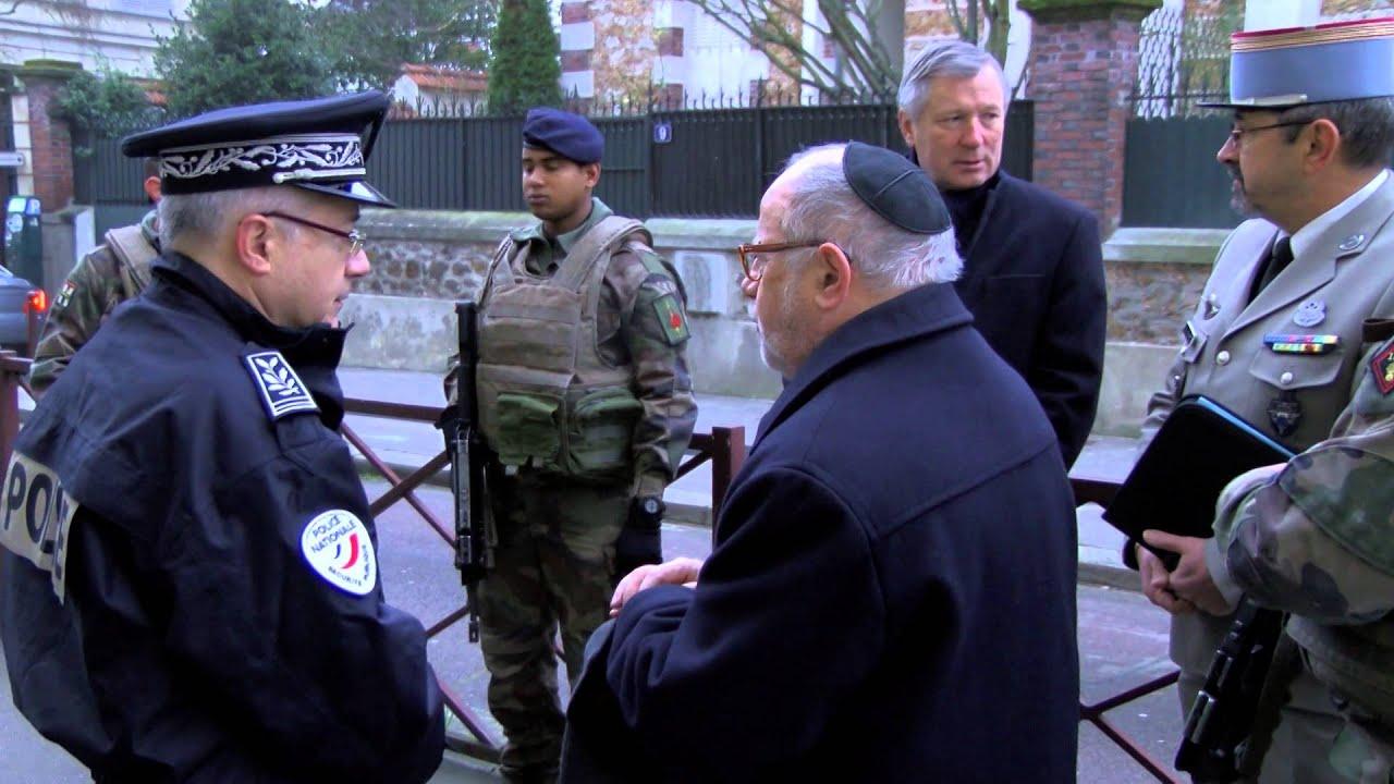 Sites juifs Yvelinois : des militaires pour les protéger