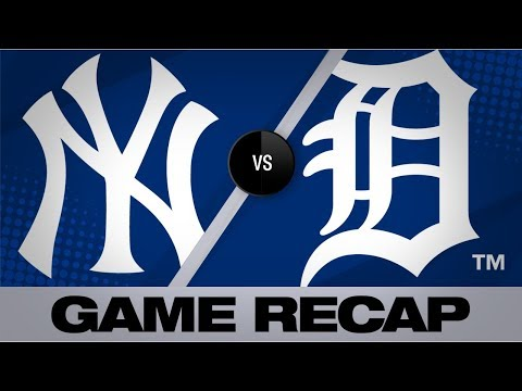 Mercer lifts Tigers with a walk-off single | Yankees-Tigers Game Highlights 9/10/19