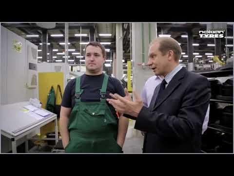 10 лет заводу Nokian Tyres в России (Всеволожск)