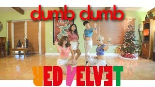 red velvet 레드벨벳 dumb dumb dance cover by gpk