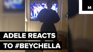 Baixar Beyoncé Made History at Coachella and Even Adele, Who Was Watching at Home, Couldn't Sit Still