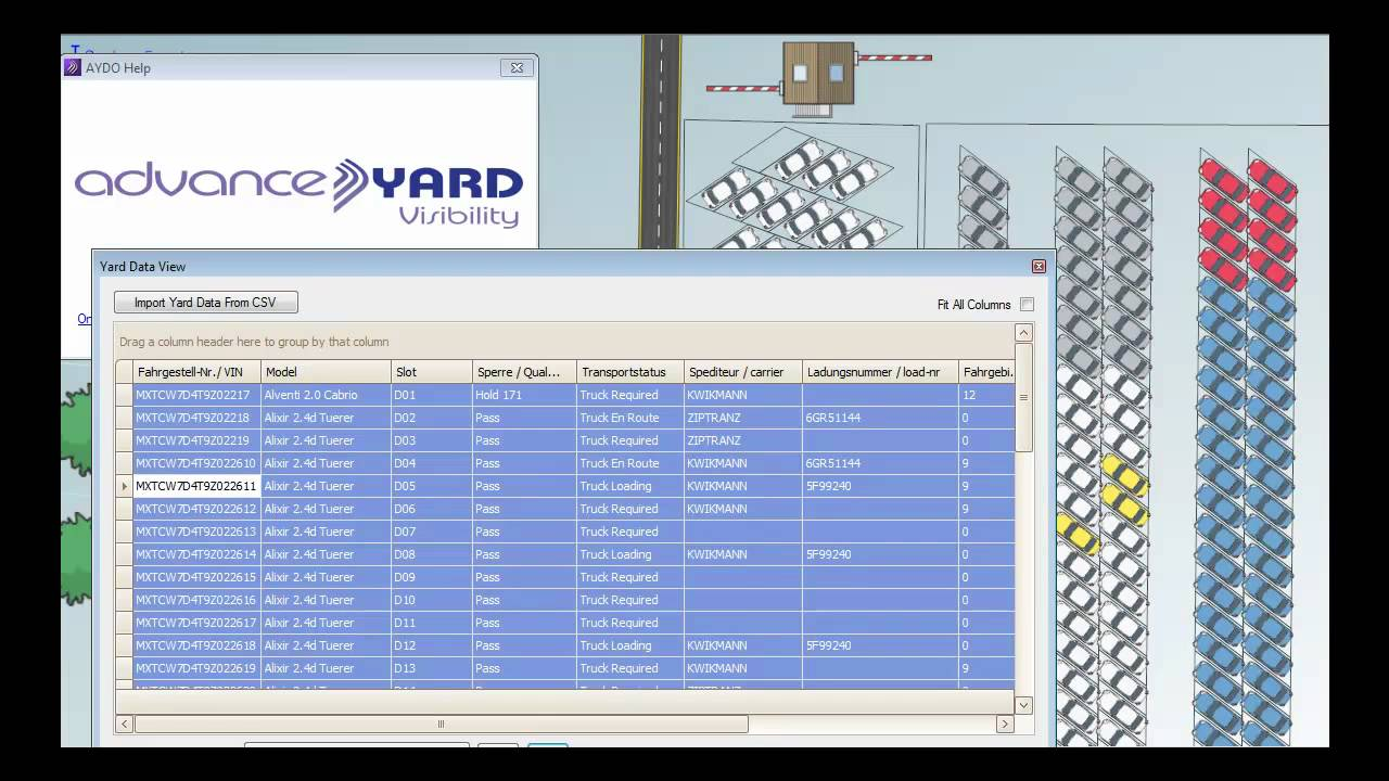 Yard Management An Visibility Youtube