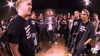 DLTLLY // Rap Battle // MC Maik + Mave VS Scumgod + DirtySanchez