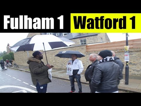 Fulham 1 Watford 1 | We are still Learning | Fulham Football Club