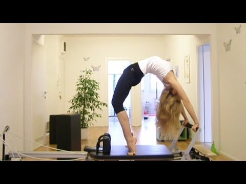 Super Advanced & Advanced Pilates Workout on the Reformer: Scorpion, Headstand, High Bridge