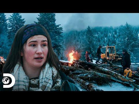 Operación extrema para quemar el suelo nevado | Alaska: Homb