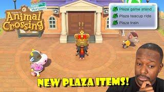 New Plaza Items in Animal Crossing Major 2.0 Update!