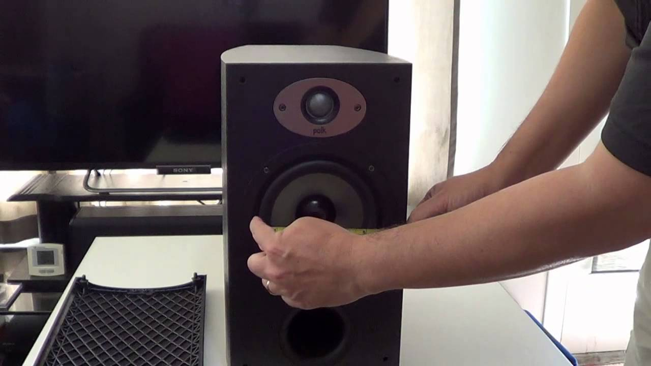 Polk Audio Tsx220b Bookshelf Speaker Review Youtube