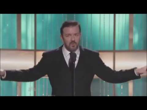 Ricky Gervais at the Golden Globes (2010-12)