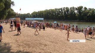 Пляж в Бендерах: фееричное открытие