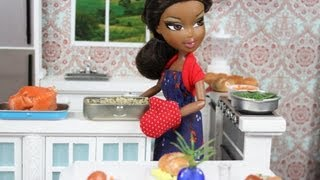 How to Make Doll Food : Turkey and Dressing