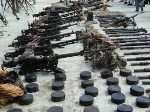 Weapons Prepared In Pakistan Ordinance Factory