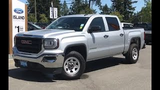 2016 GMC Sierra 1500 W/ 4x4 Backup Camera, OnStar Review| Island Ford