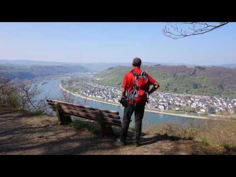 Wanderung auf dem Rheinsteig von Braubach nach Kamp-Bornhofen