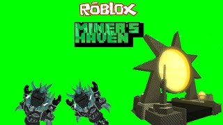 Roblox Miners Haven Reborn item: Morning Star-PhoenixProGaming747e