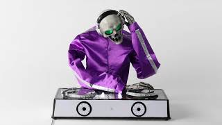 Hareketli DJ İskelet Dekoratif Cadılar Bayramı Hyde ve Hafta Prop. Boutique™