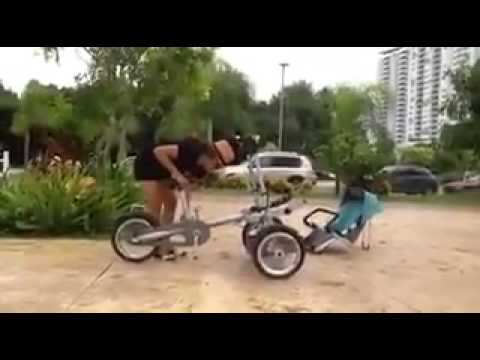 From Pram to Bicycle - YouTube