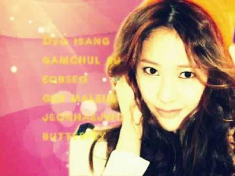 Butterfly- SNSD Jessica and f(x) Krystal Lyrics Romanization
